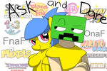 Ask and Dare with CC, Sugar Dream and more! by Creeperchild