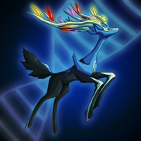 Pokemon X: Xerneas by MTC-Studio
