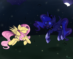 Firefly dance by Lustrous-Dreams