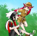 Ruby and Latias by sapph96