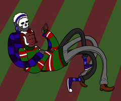 Ugly Christmas Sweater by Bumblebeat