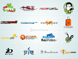 Logo design showcase 3 by nelutuinfo