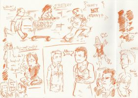 Dead Rising sketches2 by Germanoob94