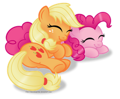 Sleepy Ponies - ApplePie edition by AleximusPrime