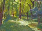 Dappled Green in Acrylics by Effarigamai