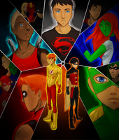 Young Justice by A-nyu-sama