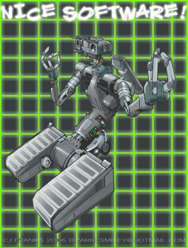 johnny 5 by lordsmiley