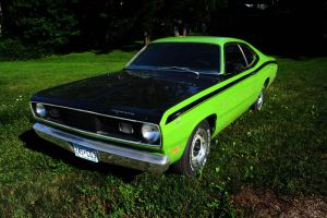 1970 Plymouth Duster by bluefishrun