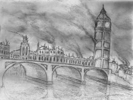 London Deja Vu Sketch by rod750