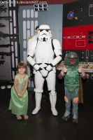 Two Chicks and a Storm Trooper by Della-Stock