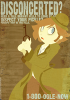 Pickle Inspector flier by SelanPike
