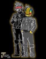 Daft Punk by sKeTcH-cRaZy