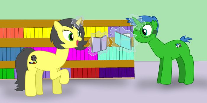 A Day at Reading Books (Gift to PaulySentry) by 04StartyCornOnline88