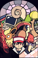 Twitch Plays Pokemon - Red's Encounters! by FlynnCL