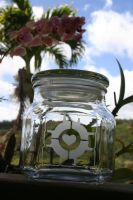 Companion Cube Jar lrg by Lifeafterchaos