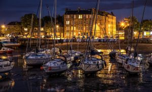 Harbour lights by BusterBrownBB