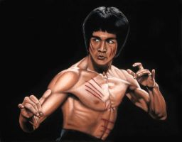 Bruce Lee by BruceWhite