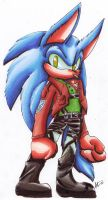 .:Sonic Jaeger:. by AzureDreamrealm