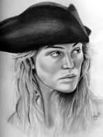 Elizabeth Swann by abish