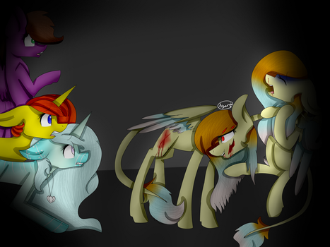 *GORE* SHE ISNT NEEDED by Lil-Ayana22