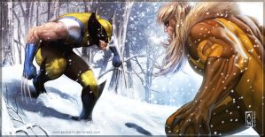 WOLVIE SNOW by AdmiraWijaya