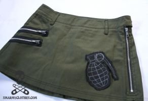 grenade skirt 4 by smarmy-clothes