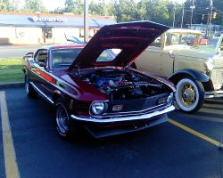 1970 Ford Mustang by Shadow55419