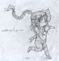 Catch Me if You Can - Paper by Blazeflight1O1