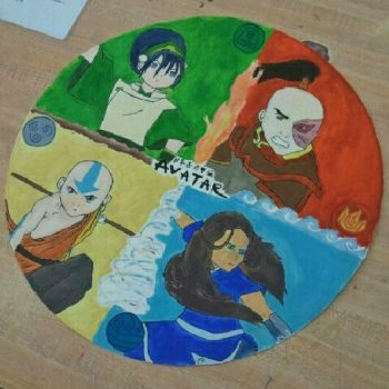 Avatar The Last Airbender Mandala by CheezeMufuns