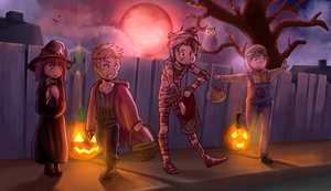 Halloween Collab by Parimak