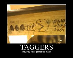Taggers -demotivation- by Dragunov-EX