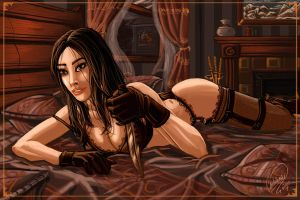 Jane in Bed by shadowyzman