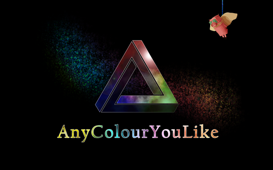 AnyColourYouLike Poster 1 by holokinesis