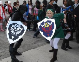 Link and Dark Link cosplay by Shiroyuki9