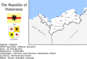 Map of the Republic of Pomerania by Coliop-Kolchovo
