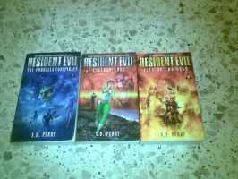 Resident EVIL Books by urolz12