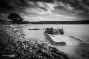The abandoned pedalo by NorbertKocsis