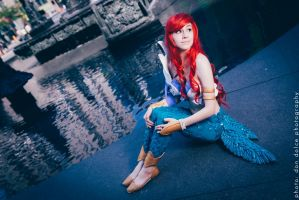 Ariel Voice of the Ocean Cosplay by ElleisWardrobe
