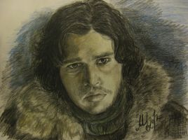 Jon Snow by Magic-is-in-you