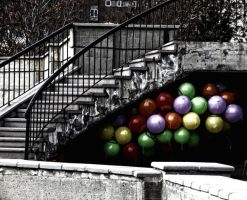 hidden balloons by oergen