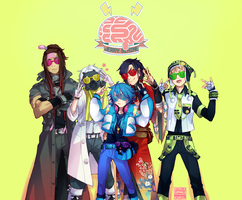 DMMD ANIME by aryllins
