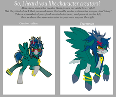 Character Creator Meme - Perfect Smile by TheFallingpiano