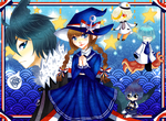 Wadanohara and the Great Blue Sea by Pochips