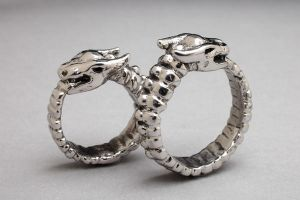 Ouroboros Ring by DaveRichardsonArt