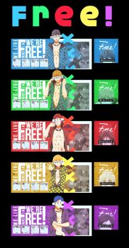 Free! by LucioHeaven