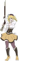 VIP Mami Tomoe by issabissabel