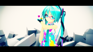 CYM Hatsune Miku Project Violet by Process39