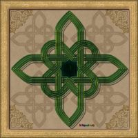 20150324-Celtic-Knot-Green-v15 by quasihedron