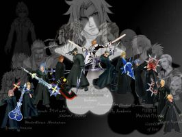 KINGDOM HEARTS by venom80089