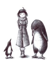 penguins by yunhakim